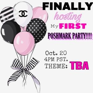 Co- HOSTING MY 1st Party